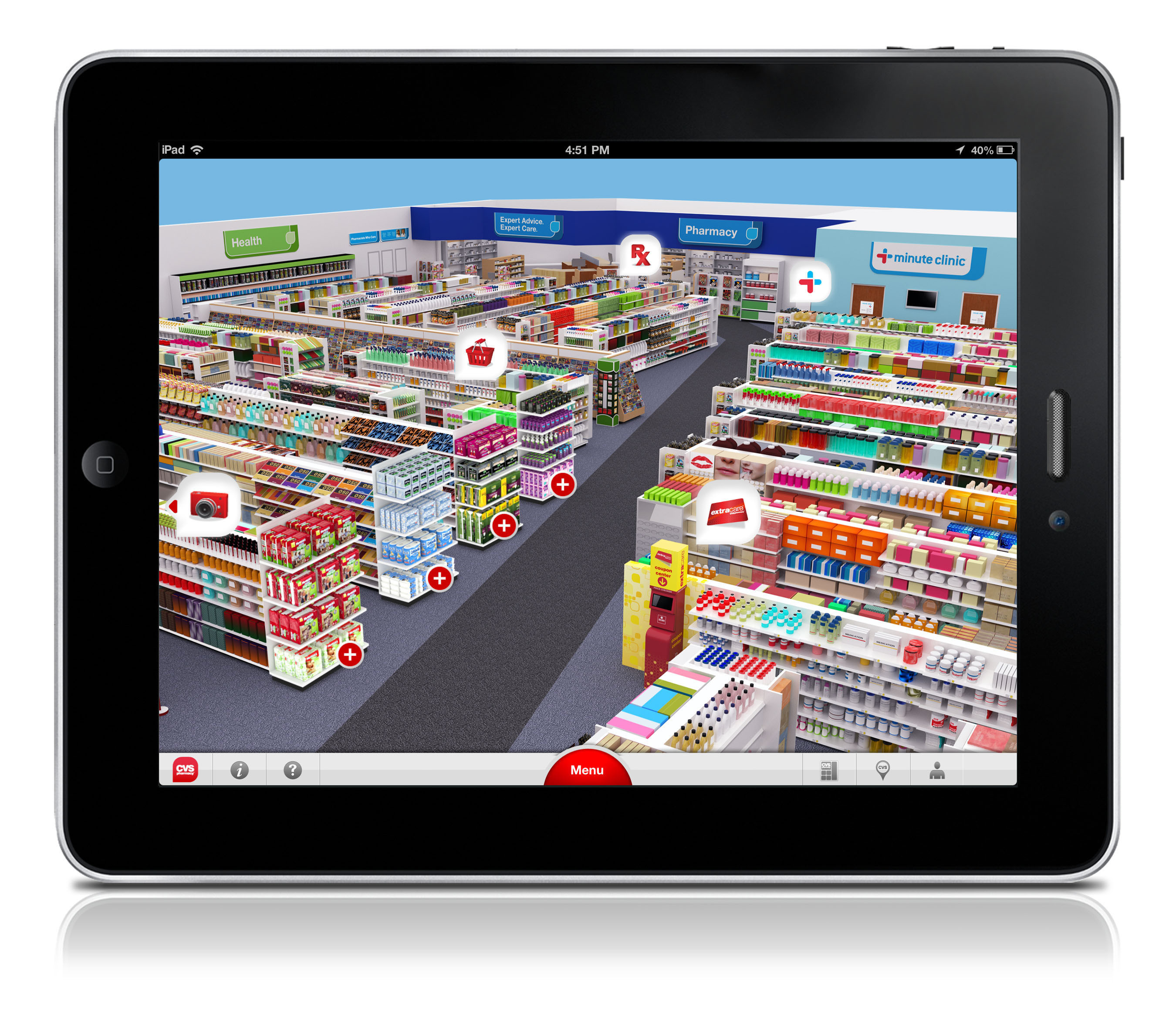cvs launches virtual pharmacy app for ipads