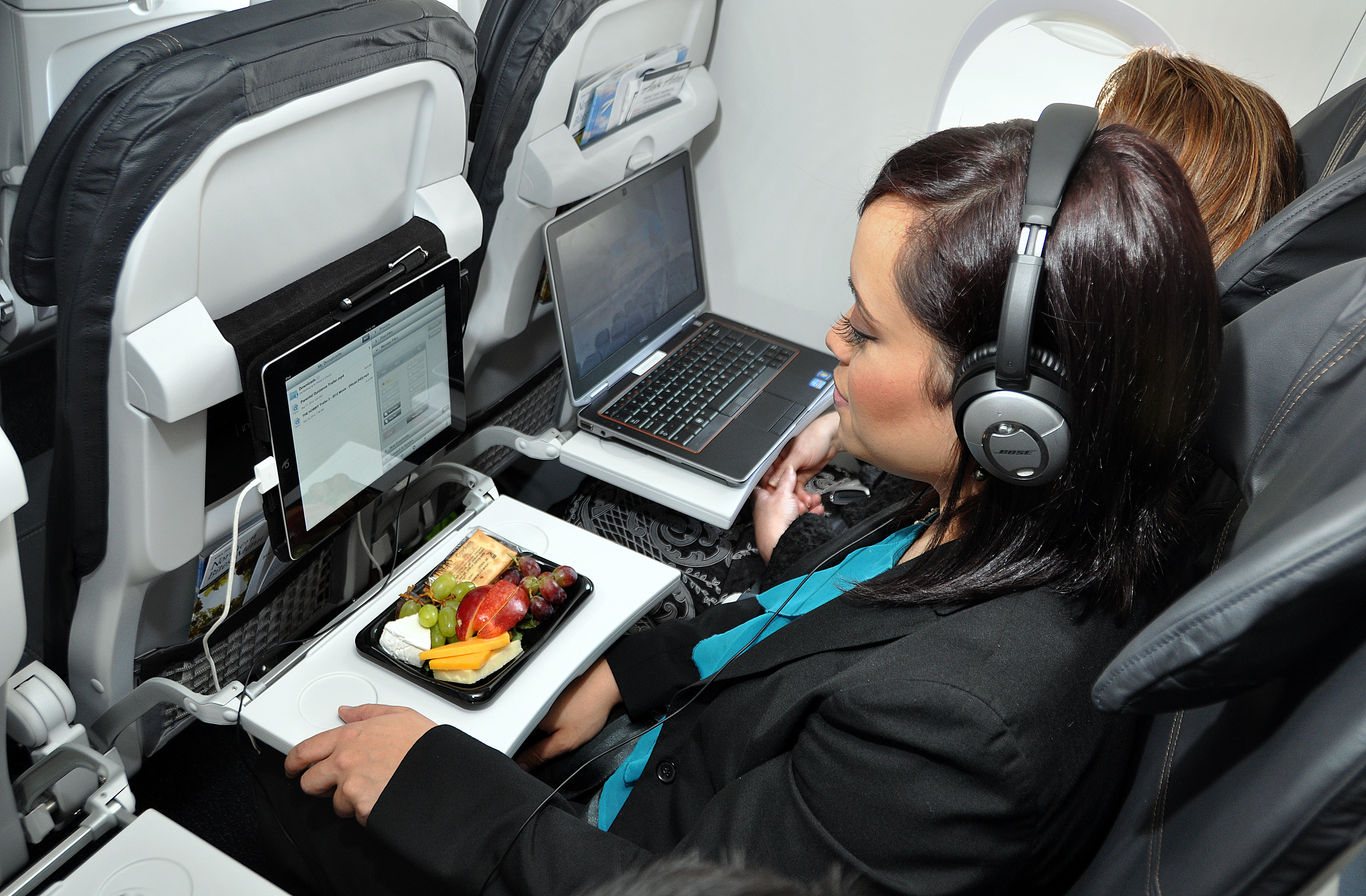 Alaska Airlines Making Mobile/Laptop Chargers Standard Seat Feature