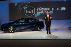 Toyota Making Hydrogen Fuel Cell Patents Available Royalty-Free