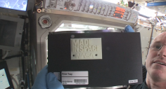First Material Created In Space – NASA 3D-Prints Objects On ISS