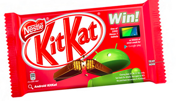 Google Teams With Nestle To Launch Android 4.4 KitKat