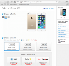 IPhone 5S Gold Not Yet Available