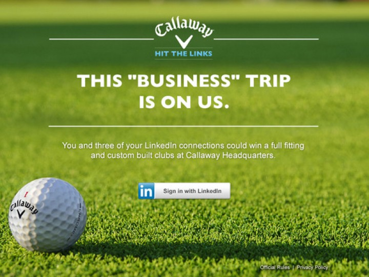 Callaway, LinkedIn Partnering For Golf