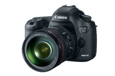 Canon Launches The EOS 5D Mark III Cameras