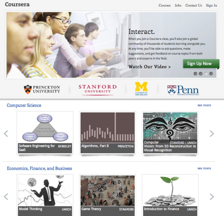 Coursera Raises $16M From Kleiner Perkins, NEA