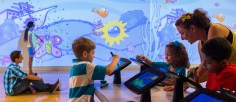 Art Meets IPads In Renovated Crayola Experience