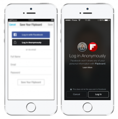 Facebook Launches Anonymous Login