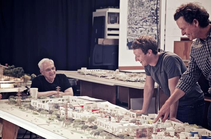 Frank Gehry To Design New Facebook Campus
