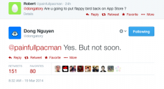 Flappy Bird Coming Back To App Store