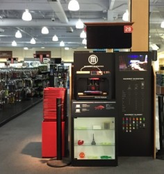 MakerBot 3D Printers Come To Staples, Fry's