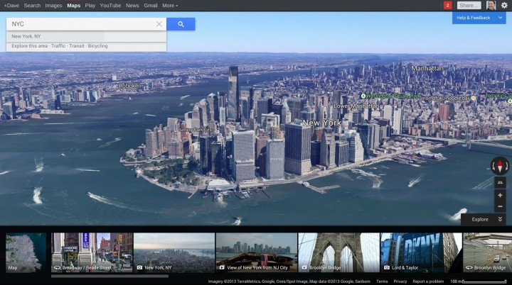 Google Maps Get Personalization Options