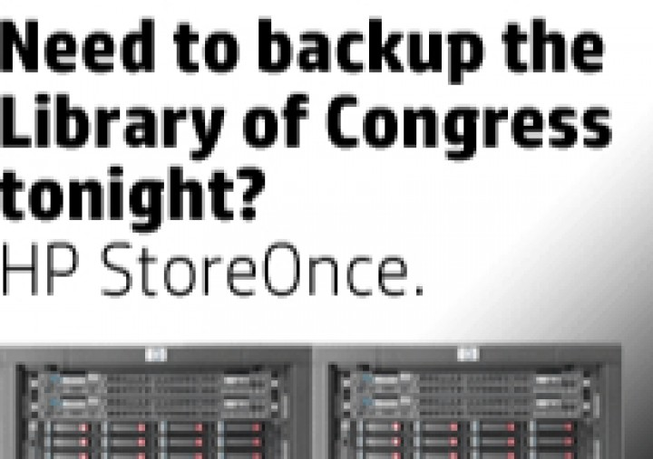 New HP Solutions Offer 100 TB/Hour Backups