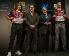 Intel To Sponsor FC Barcelona Soccer Team