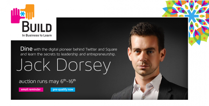 $5,000 To Have Lunch With Jack Dorsey
