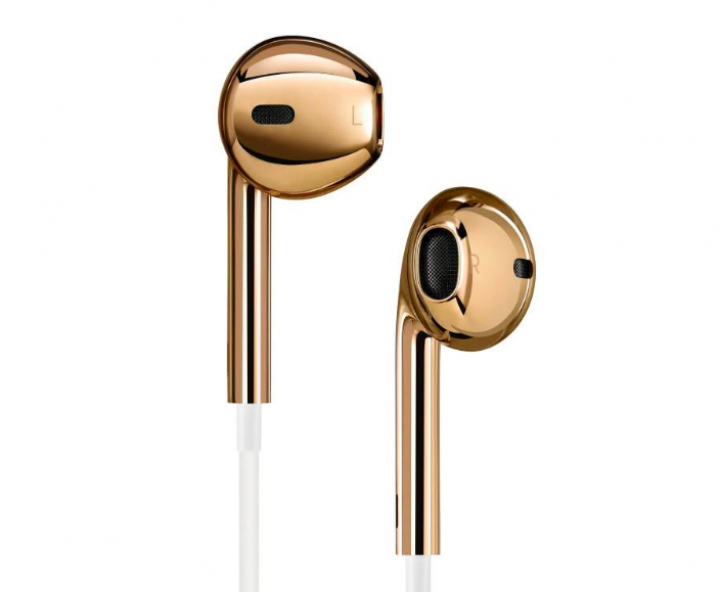 Apple's Jony Ive Designs Gold Earphones, Champagne Cooler For Charity