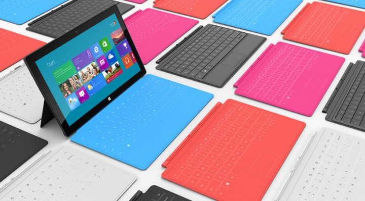 Microsoft Launches 'Surface PC' Tablets