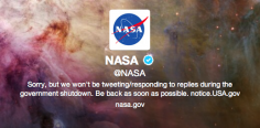 NASA Partially Shut Down, Happy 55th Birthday Indeed
