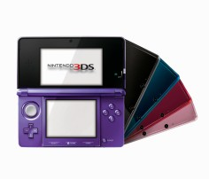 Nintendo 3DS Gets The Color Purple