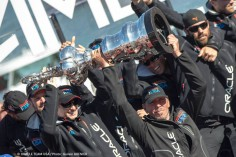 Oracle Wins America's Cup, Larry Ellison Misses His Own Keynote