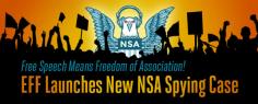 EFF Sues NSA