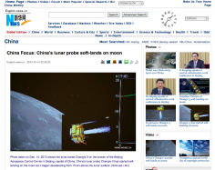 China Lands A Rover On Moon