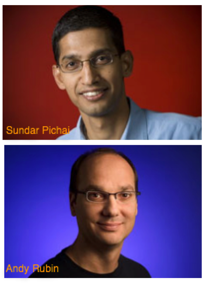 Android Chief Andy Rubin Hands Over Reins To Sundar Pichai