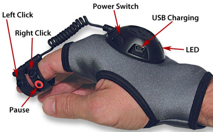 Online Gaming Gets Wireless Air Mouse Glove