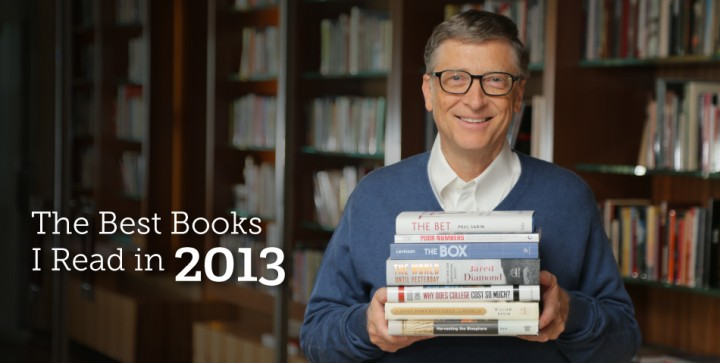 Bill Gates Shares His Top Seven Books For 2013