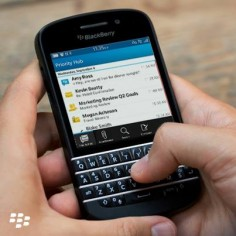 BlackBerry Revenue Drops 64 Per Cent