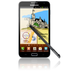 Samsung Galaxy Note Hits European markets
