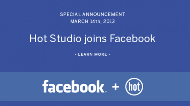 Facebook Acquires Team Behind Hot Studio