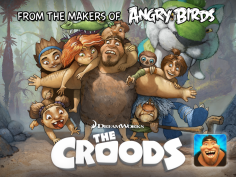 Rovio, DreamWorks Releasing 'The Croods' Game
