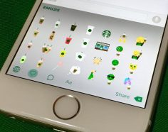Starbucks Launches Its Own Emoji Keyboard