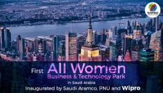 Saudia Arabia Opens First All Women Business & Technology Park